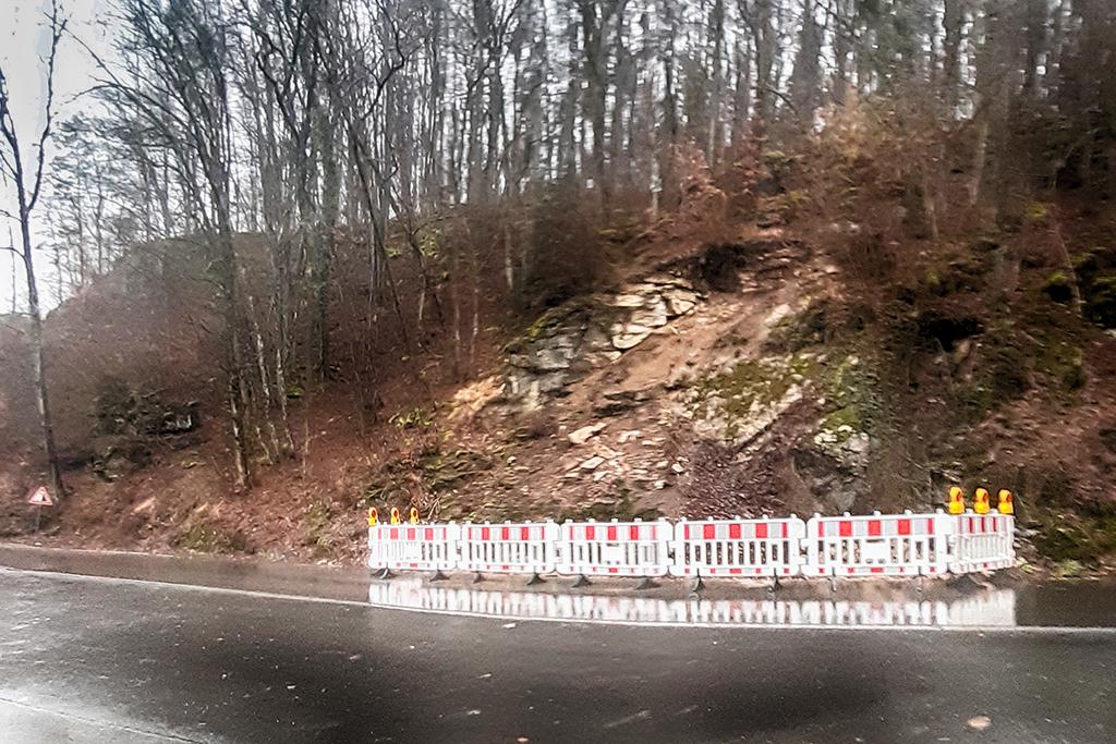 Felssturz Schlehenmühle